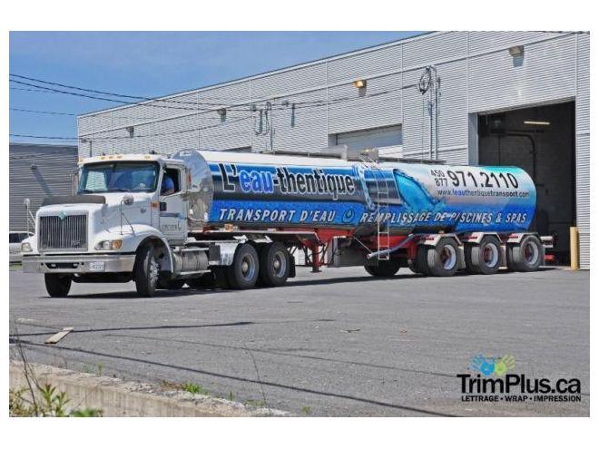 remplissage de piscine spa transport d 39 eau camion citerne vendre ste sophie. Black Bedroom Furniture Sets. Home Design Ideas