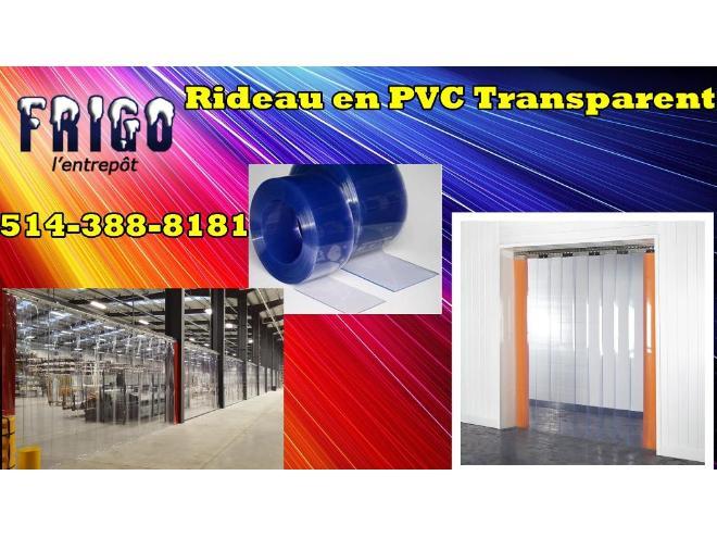 RIDEAU EN PVC POUR VOTRE CHAMBRE FROIDE / CONGÉLATEUR Neuf à vendre ...