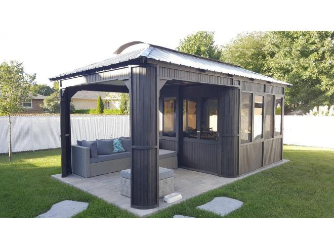 pavillon jardin 10 x20 neuf direct du fabricant neuf vendre mont tremblant. Black Bedroom Furniture Sets. Home Design Ideas