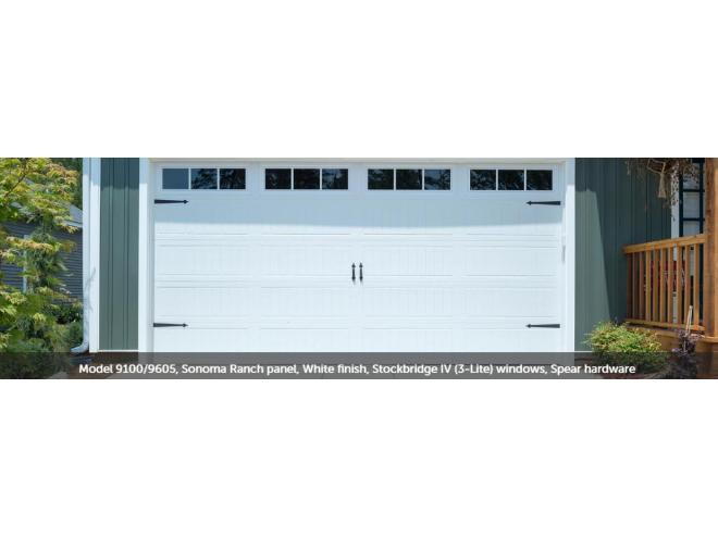 porte de garage 9x8 a vendre
