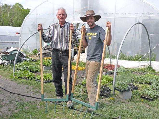 Grelinette biofourche plante poireaux neuf vendre st c saire outils et - Poireaux a repiquer vente ...