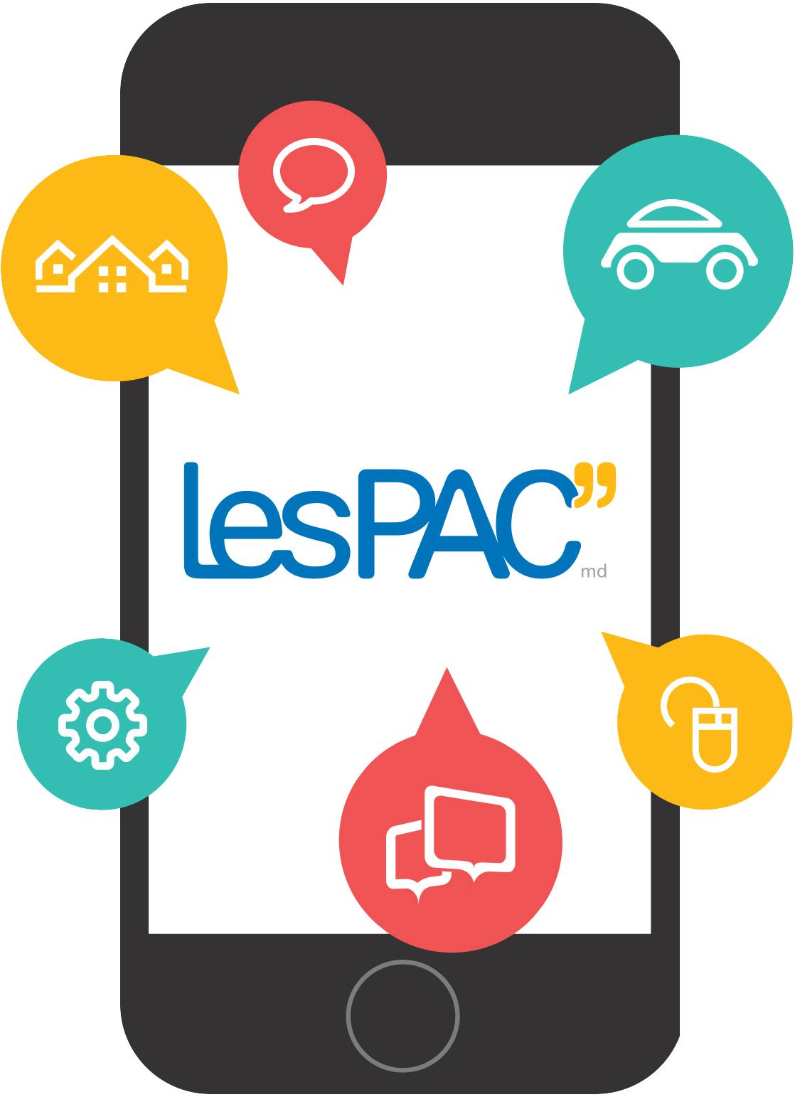 LesPAC pour iPhone et Android