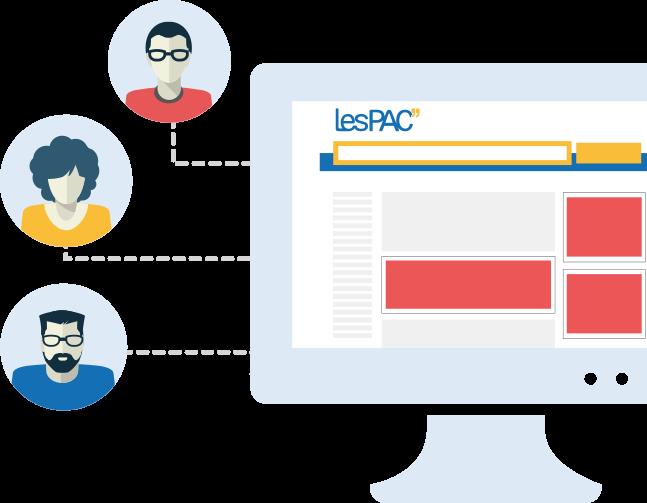 Diffusez vos publicités sur LesPAC